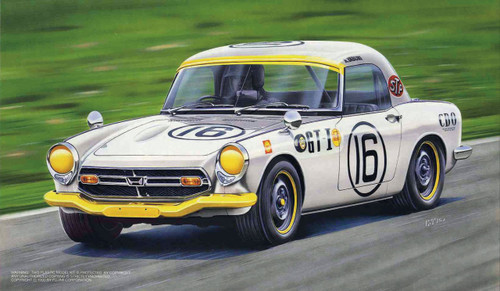 Fujimi HR4 Honda S800 Race Type 1/24 Scale Kit