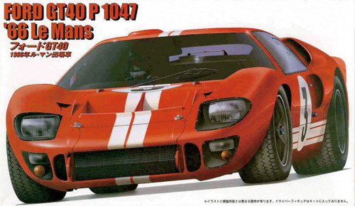 Fujimi HR10 Ford GT40 1966 Le Mans 1/24 Scale Kit