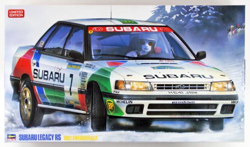 Hasegawa 20290 Subaru Legacy RS 1992 Swedish Rally 1/24 scale kit