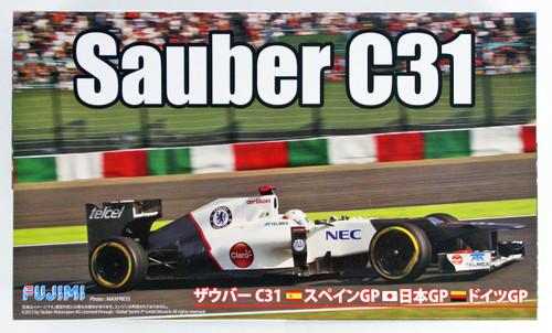 Fujimi GP20 Sauber C31 (Japan/ Spain/ Germany GP) 1/20 scale kit