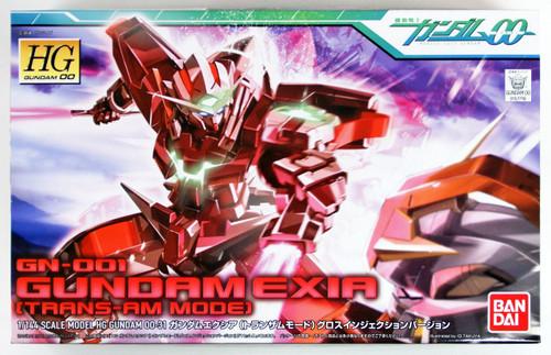 Bandai HG OO 31 GN-001 GUNDAM EXIA (TRANS-AM MODE) 1/144 scale kit