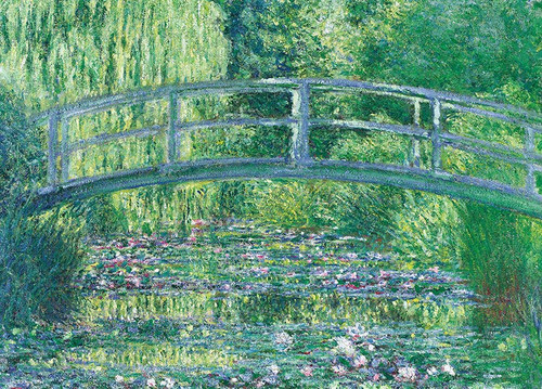 Epoch Jigsaw Puzzle 54-008 World Art Claude Monet Water Lilies (2000 S-Pieces)