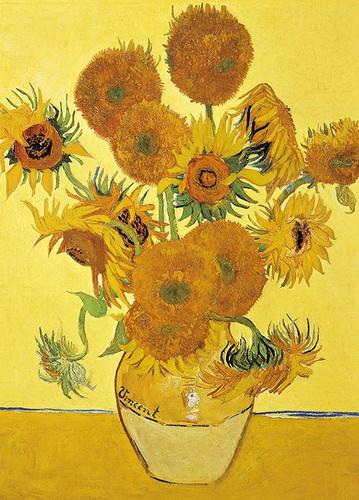 Epoch Jigsaw Puzzle 54-009 World Art Vincent van Gogh Sunflowers (2000 S-Pieces)