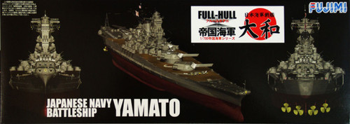 Fujimi FH-01 IJN BattleShip Yamato Full Hull Model 1/700 Scale Kit