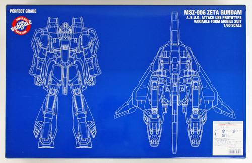 Bandai PG 756806 GUNDAM MSZ-006 ZETA GUNDAM 1/60 scale kit