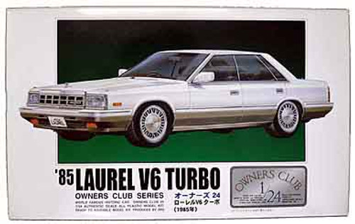 Arii Owners Club 1/24 16 1985 Laurel V6 Turbo 1/24 Scale Kit (Microace)