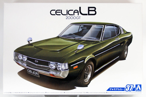 Aoshima 53195 The Model Car 37 Toyota RA35 Celica LB 2000GT '77 1/24 scale kit