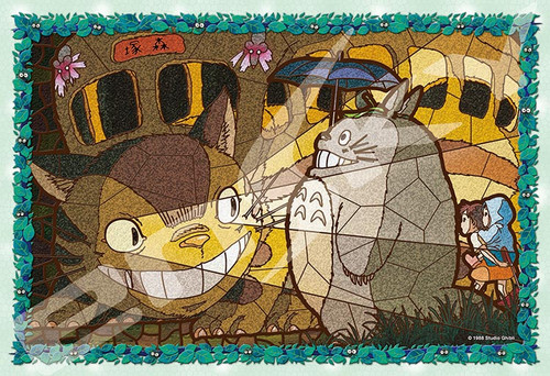 Ensky Art Crystal Jigsaw Puzzle 300-AC33 My Neighbor Totoro Studio Ghibli (300 Pieces)