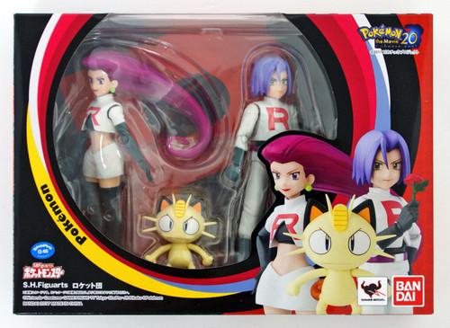 Bandai S.H. Figuarts Pokemon Team Rocket Figure   PlazaJapan