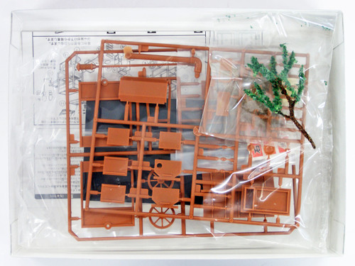 Arii 812105 Japanese Ishiyaki Imo Stall 1/25 Scale Kit (Microace)