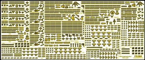Fujimi Gunko Dup02 114996 Gunko Series Genuine Photo Etched Parts 1 1/3000 scale