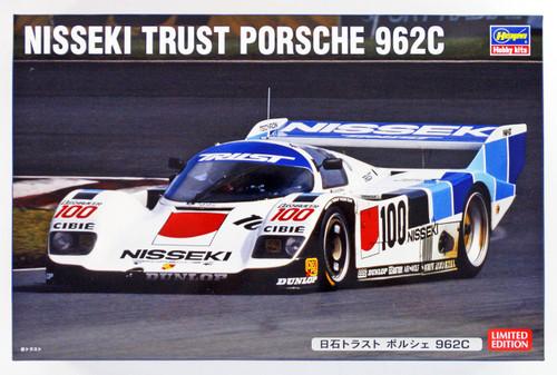 Hasegawa 20298 Nisseki Trust Porsche 962C 1/24 scale kit