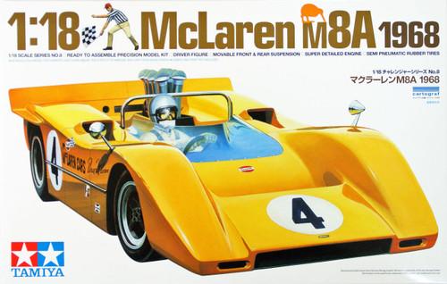 Tamiya 10008 McLaren M8A 1968 1/18 Scale Kit