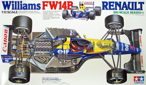 Tamiya 12029 Williams FW14B Renault 1/12 Scale Kit
