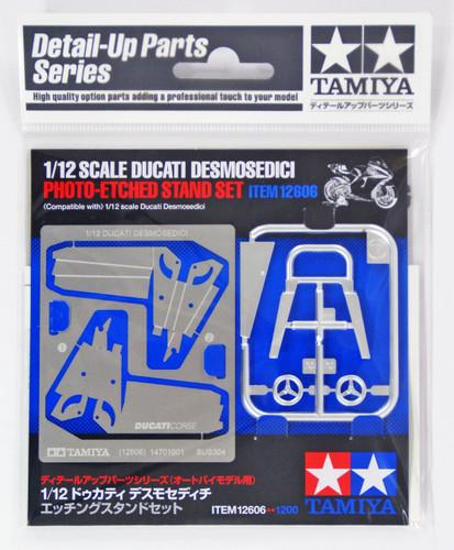 Tamiya 12606 Ducati Desmosedici Photo-Etched Stand Set 1/12 Scale Kit