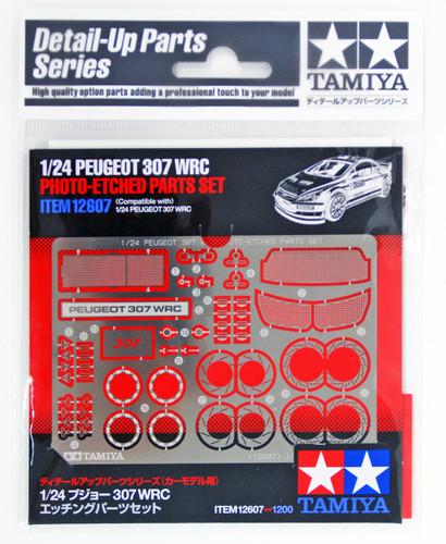 Tamiya 12607 Peugeot 307 WRC Photo-Etched Parts Set 1/24 Scale Kit