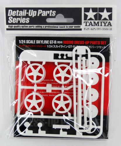 Tamiya 12608 Skyline GT-R (R34) NISMO Dress-Up Parts Set 1/24 Scale Kit
