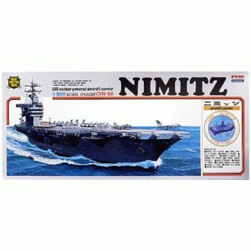 Arii-04 618042 USS Aircraft Carrier Nimitz CVN-68 1/800 Scale Kit (Microace)