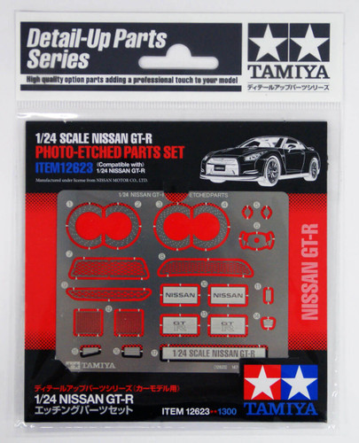 Tamiya 12623 Nissan GT-R Photo-Etched Parts Set 1/24 Scale Kit