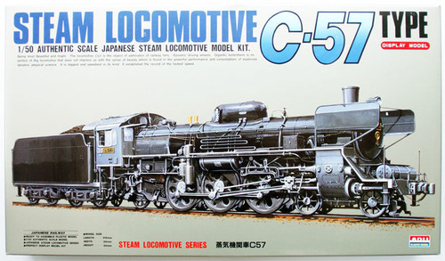 Arii 356036 Japanese Steam Locomotive Type C57 1/50 Scale Kit (Microace)