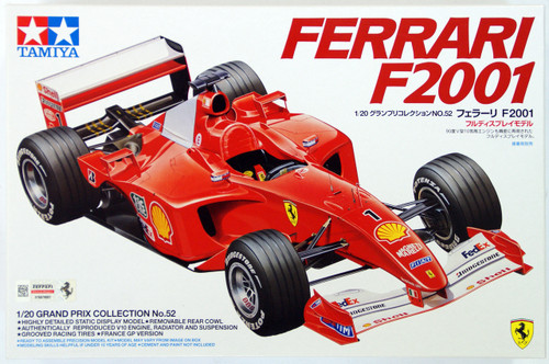Tamiya 20052 Ferrari F2001 1/20 Scale Kit