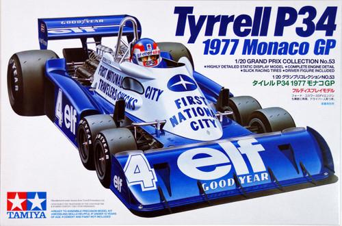 Tamiya 20053 Tyrrell P34 1977 Monaco GP 1/20 Scale Kit