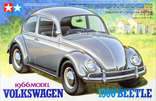 Tamiya 24136 Volkswagen 1300 Beetle 1966 Model 1/24 Scale Kit