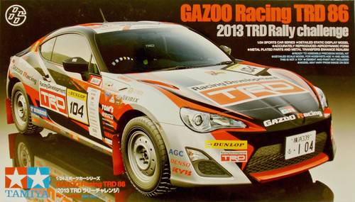 Tamiya 24337 GAZOO Racing TRD 86 (2013 TRD Rally challenge) 1/24 Scale Kit