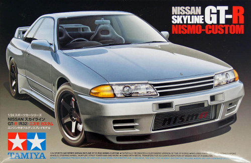 Tamiya 24341 Nissan Skyline GT-R (R32) Nismo-Custom 1/24 Scale Kit