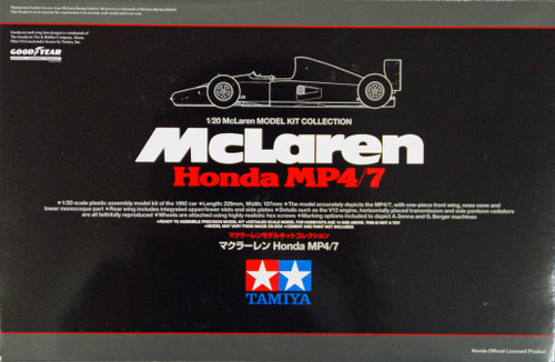Tamiya 25171 McLaren Honda MP4/7 1/20 Scale Kit