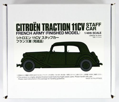 Tamiya 26548 French Citroen 11CV Staff Car 1/48 Scale Kit Finished Model