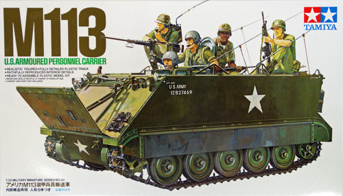 Tamiya 35040 M113 U.S. Armoured Personnel Carrier 1/35 Scale Kit