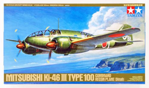 Tamiya 61092 Mitsubishi Ki-46 III Type 100 Command Recon Plane 1/48 Scale Kit