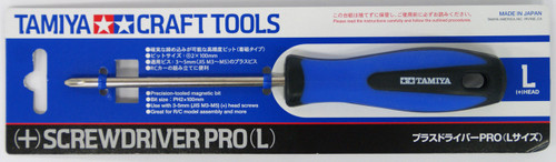 Tamiya 74120 Craft Tools - (+) Screwdriver PRO (L)