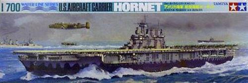 Tamiya 77510 US Aircraft Carrier HORNET 1/700 Scale Kit