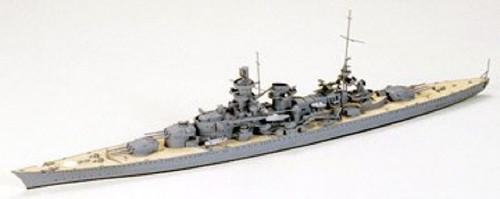 Tamiya 77518 German Battlecruiser Scharnhorst 1/700 Scale Kit