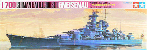 Tamiya 77520 German Battle Cruiser GNEISENAU 1/700 Scale Kit
