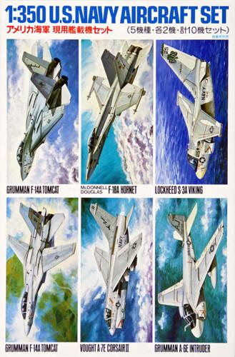 Tamiya 78006 US Navy Aircraft Set No. 1 1/350 Scale Kit
