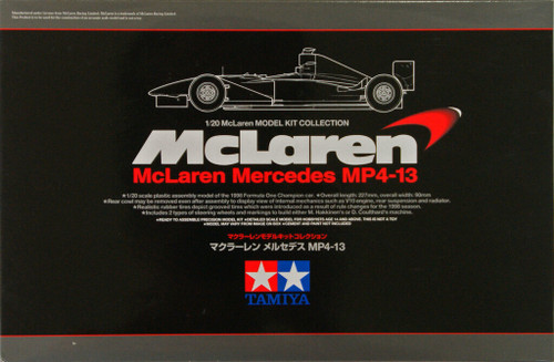 Tamiya 89718 McLaren Mercedes MP4-13 1/20 Scale Kit