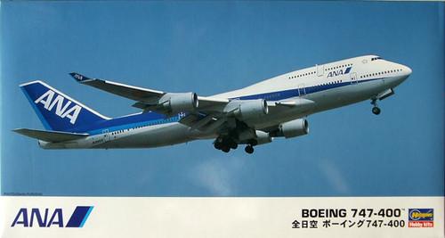 Hasegawa 02 ANA All Nippon Airways Boeing 747-400 1/200 Scale Kit