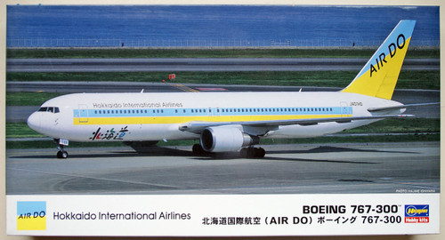 Hasegawa 12 AIR DO Hokkaido Boeing 767-300 1/200 Scale Kit