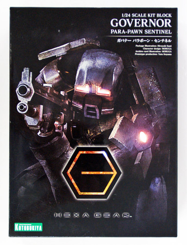 Kotobukiya HG015 Hexa Gear Governor Para-Pawn Sentinel 1/24 Scale Kit