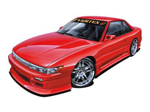 Aoshima 53348 Vertrex PS13 Silvia 1991 (Nissan)1/24 scale kit