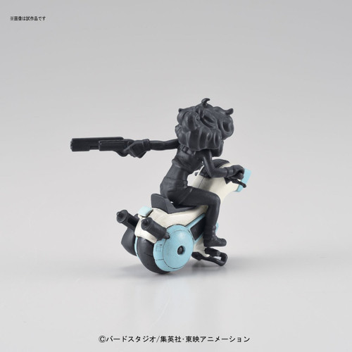 Bandai 163947 DRAGON BALL Lunch's One-wheel Motorcycle Non Scale Kit (Mecha Collection DRAGON BALL No.03)