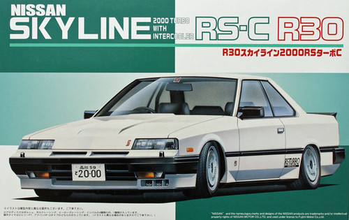 Fujimi ID-112 Nissan Skyline RS-C R30 2000 Turbo 1/24 Scale Kit