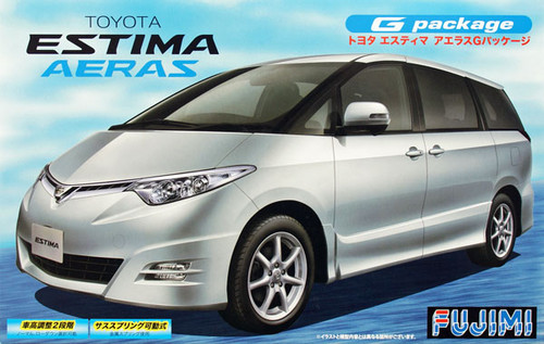 Fujimi ID-126 Toyota Estima Aeras G Package 1/24 Scale Kit