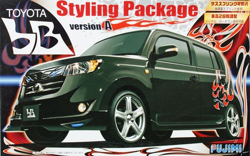 Fujimi ID-127 Toyota bB Styling Package Version A 1/24 Scale Kit