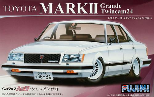 Fujimi ID-128 Toyota Mark II Grande Twincam 24 (GX61) 1/24 Scale Kit