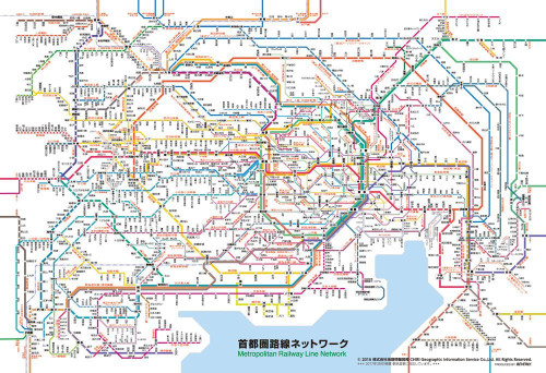 Beverly Jigsaw Puzzle L74-154 Metropolitan Railway Line Network (150 L-Pieces)