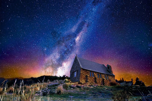 Epoch Jigsaw Puzzle 10-789 Starry Sky Tekapo New Zealand (1000 Pieces)